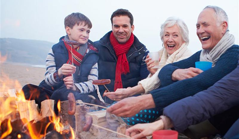 Make memories and support brain health by spending time with friends and family.