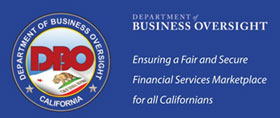 California Department of Business Oversight